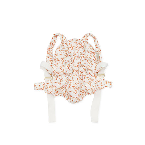 Dolls Carrier Caramel Leaves by Cam Cam Copenhagen, available at Bobby Rabbit. Free UK Delivery over £75