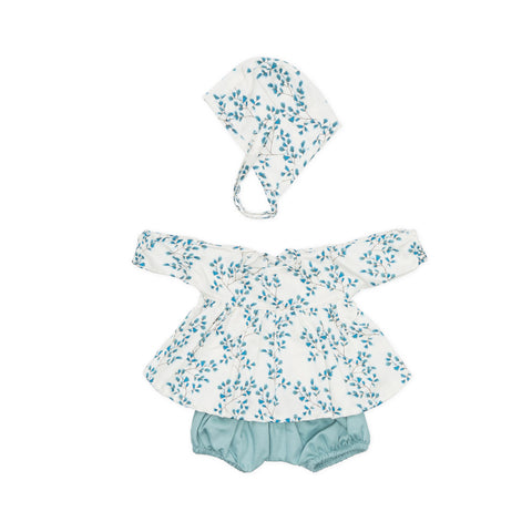 Dolls Clothes Set Fiori by Cam Cam Copenhagen, available at Bobby Rabbit. Free UK Delivery over £75