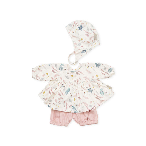 Dolls Clothes Set Pressed Leaves by Cam Cam Copenhagen, available at Bobby Rabbit. Free UK Delivery over £75