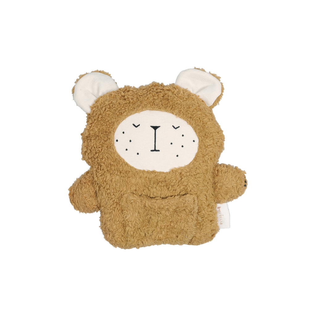 Fabbies Soft Toy - Bear by Fabelab, available at Bobby Rabbit. Free UK Delivery over £75