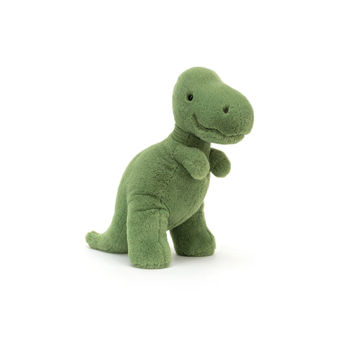 Fossilly T-Rex Soft Toy, designed and made by Jellycat and available at Bobby Rabbit. Free UK Delivery over £75