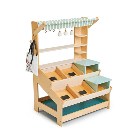 General Stores Wooden Shop by Tender Leaf Toys, available at Bobby Rabbit. Free UK Delivery over £75