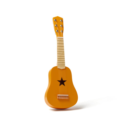 Mustard Guitar by Kids Concept, available at Bobby Rabbit.