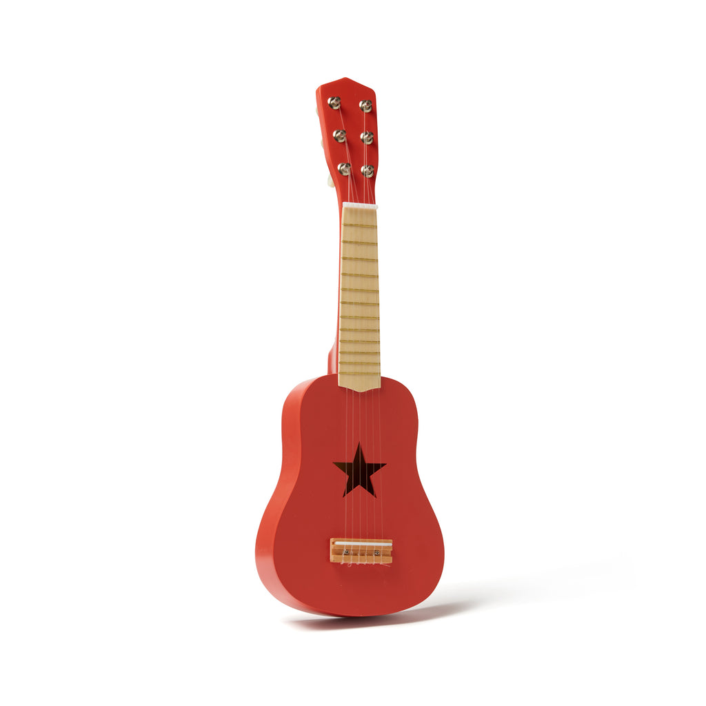 Red Guitar by Kids Concept, available at Bobby Rabbit.