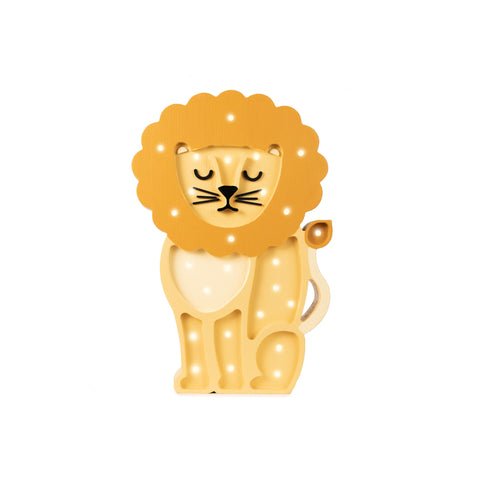 Lion Lamp by Little Lights, available at Bobby Rabbit. Free UK Delivery over £75
