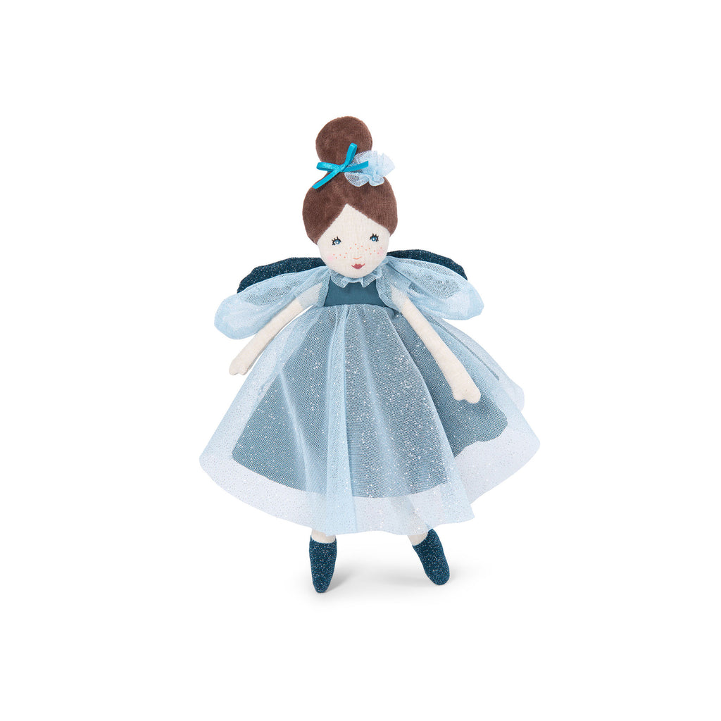 Little Enchanted Fairy Doll - Blue by Moulin Roty, available at Bobby Rabbit.