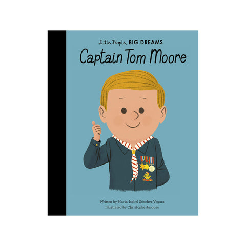 Little People, Big Dreams: Captain Tom Moore, available at Bobby Rabbit. Free UK Delivery over £75