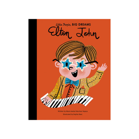 Little People, Big Dreams: Elton John, available at Bobby Rabbit. Free UK Delivery over £75