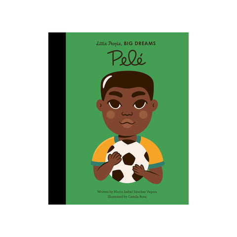 Little People, Big Dreams: Pele, available at Bobby Rabbit. Free UK Delivery over £75