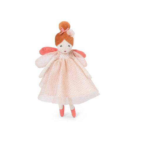Little Enchanted Fairy Doll - Pink by Moulin Roty, available at Bobby Rabbit.