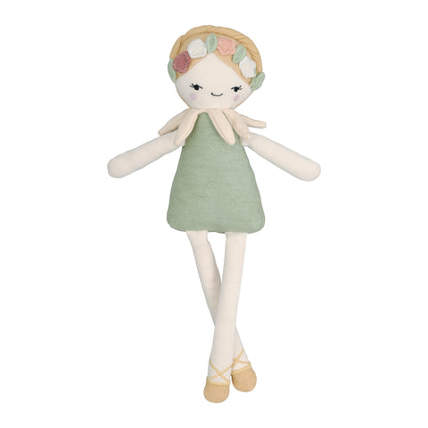 Ingvild Midsummer Elf Doll Soft Toy by Fabelab, available at Bobby Rabbit.