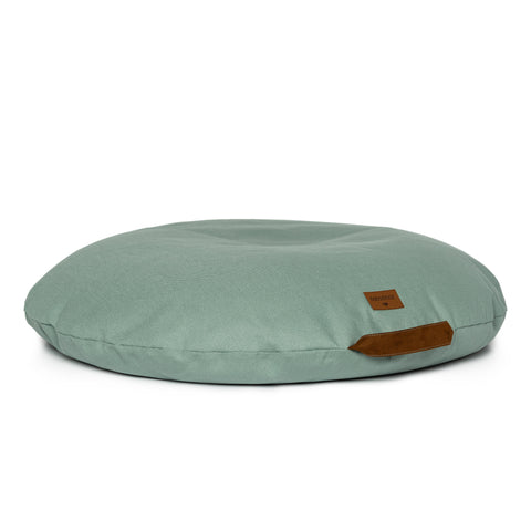 Sahara Bean Bag - Eden Green by Nobodinoz, available at Bobby Rabbit. Free UK Delivery over £75