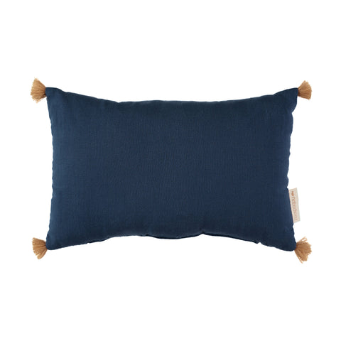 Sublim Cushion - Night Blue by Nobodinoz, available at Bobby Rabbit. Free UK Delivery over £75