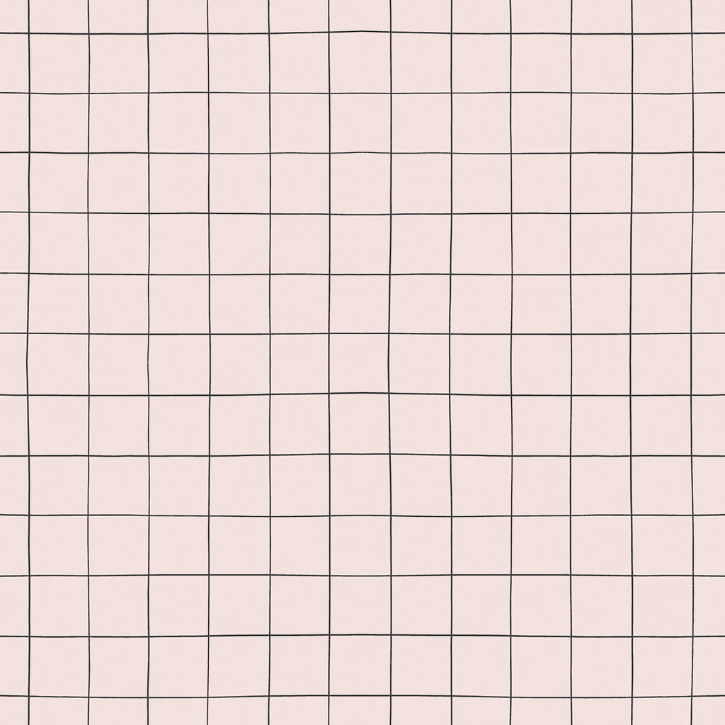 Grid Wallpaper by Lilipinso, available at Bobby Rabbit.
