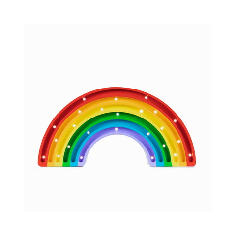 Rainbow Lamp - Classic by Little Lights, available at Bobby Rabbit. Free UK Delivery over £75