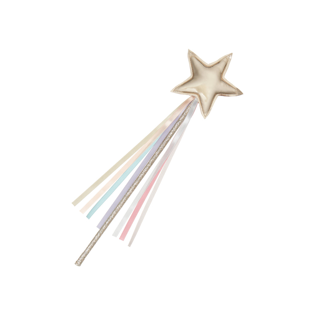 Rainbow Fairy Wand dressing up accessory by Mimi and Lula, available at Bobby Rabbit. Free UK Delivery over £75