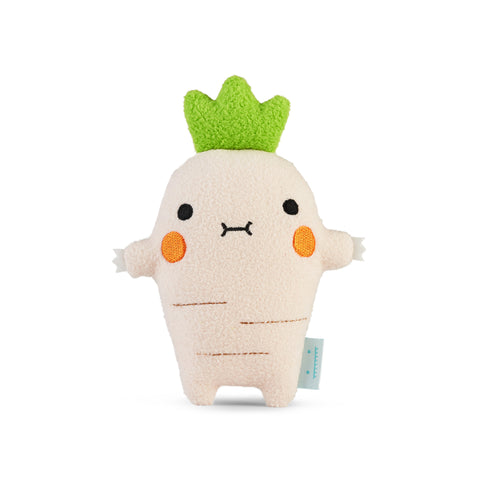 Riceparsnip Mini Plush Toy by Noodoll, available at Bobby Rabbit. Free UK Delivery over £75