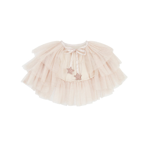 Ruffle Cape - Beige dressing up accessory by Mimi and Lula, available at Bobby Rabbit. Free UK Delivery over £75