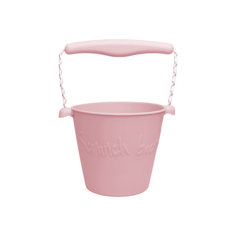 Scrunch Kids Bucket Outdoor Toy - Rose Pink by Scrunch Kids, available at Bobby Rabbit. Free UK Delivery over £75