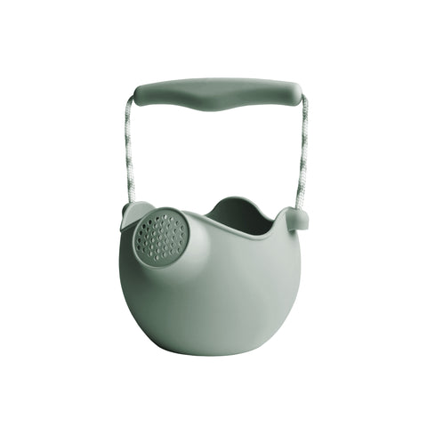 Scrunch Kids Watering Can Outdoor Toy - Sage by Scrunch Kids, available at Bobby Rabbit. Free UK Delivery over £75