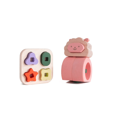 Shleep Wooden Toy by Tomata, available at Bobby Rabbit.