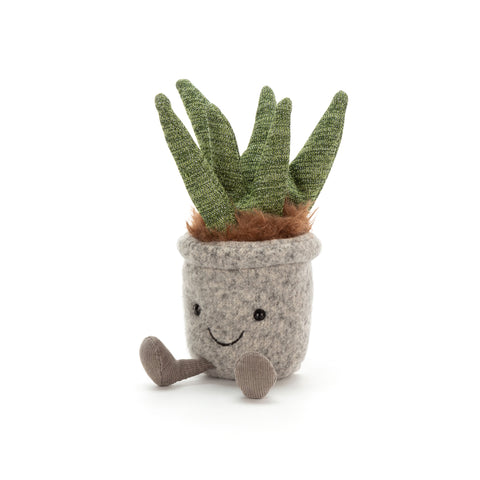 Silly Succulent Aloe Soft Toy, designed and made by Jellycat and available at Bobby Rabbit. Free UK Delivery over £75