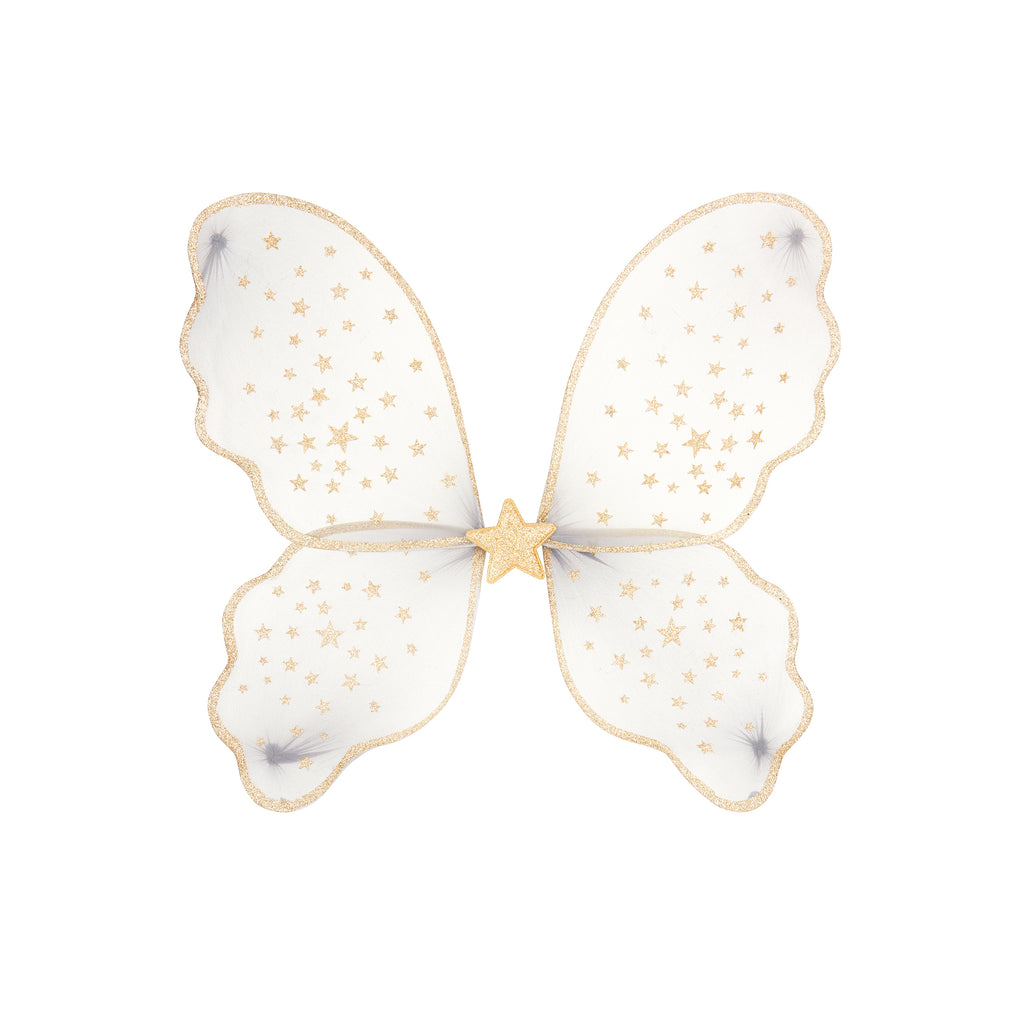 Starry Night Wings - Grey dressing up accessory by Mimi and Lula, available at Bobby Rabbit. Free UK Delivery over £75