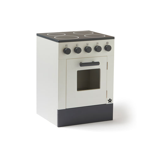 Stove Play Kitchen - White by Kids Concept, available at Bobby Rabbit.