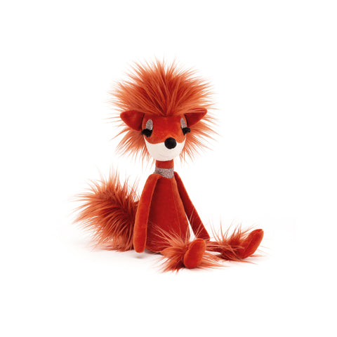 Swellegant Francesca Fox Soft Toy, designed and made by Jellycat and available at Bobby Rabbit. Free UK Delivery over £75