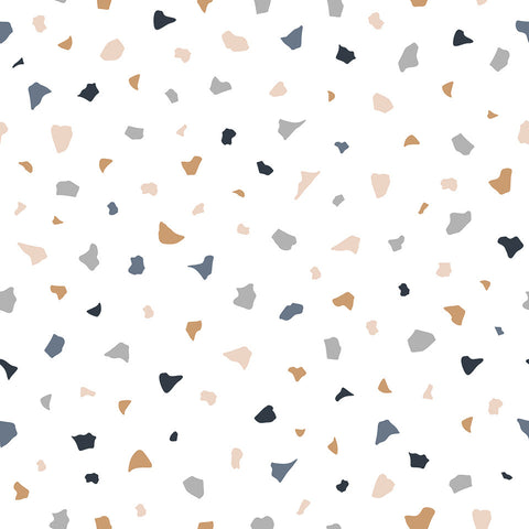 Terrazzo Wallpaper by Lilipinso, available at Bobby Rabbit.