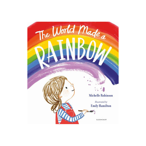 The World Made A Rainbow Book, available at Bobby Rabbit. Free UK Delivery over £75