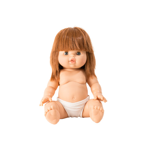 Capucine Toddler Doll by Minikane, available at Bobby Rabbit.