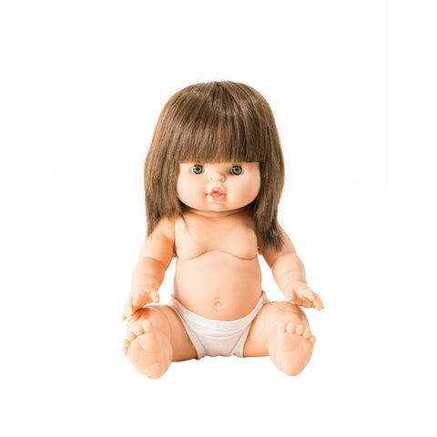 Chloe Toddler Doll by Minikane, available at Bobby Rabbit.