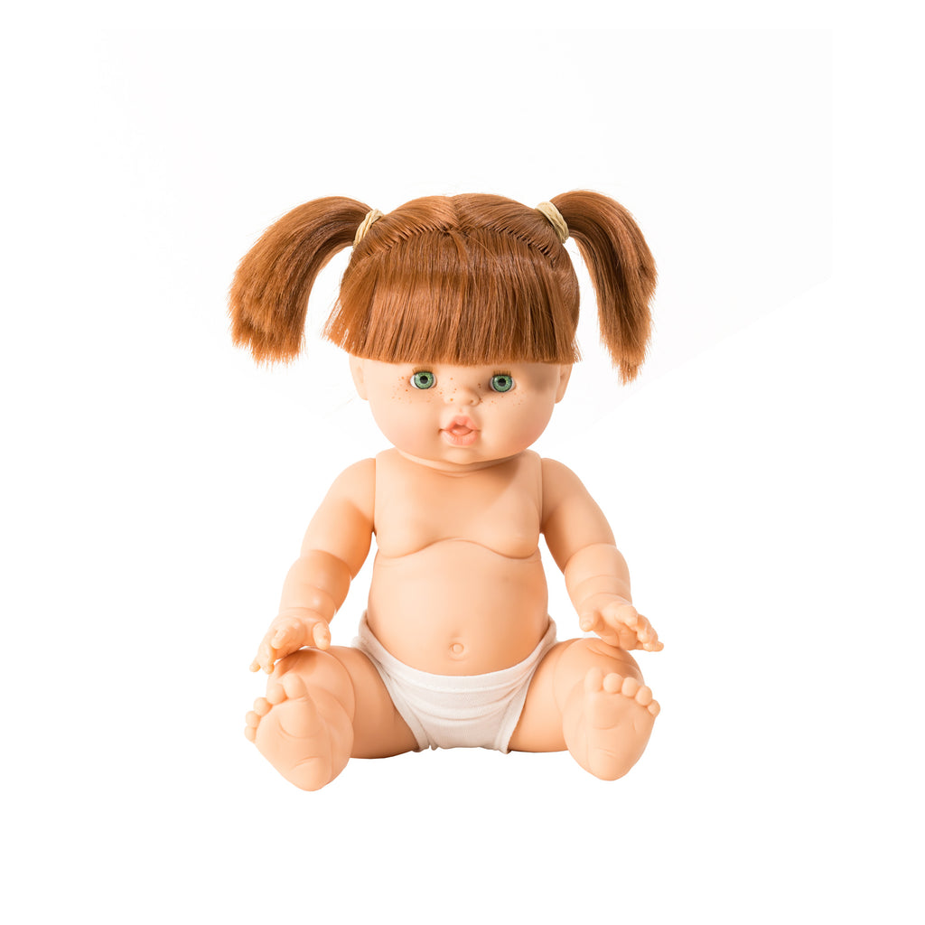Gabrielle Toddler Doll by Minikane, available at Bobby Rabbit.