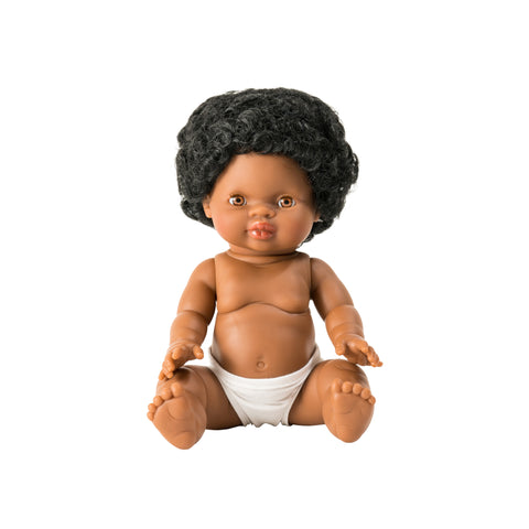 Jahia Toddler Doll by Minikane, available at Bobby Rabbit.