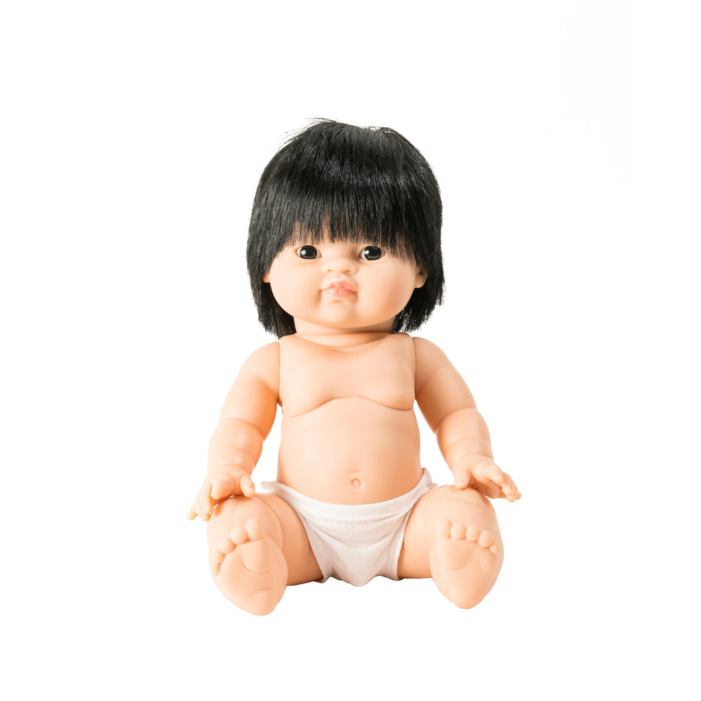 Jude Toddler Doll by Minikane, available at Bobby Rabbit.