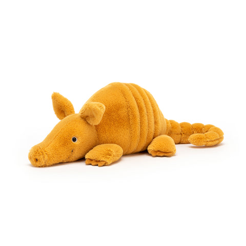 Vividie Armadillo Soft Toy, designed and made by Jellycat and available at Bobby Rabbit. Free UK Delivery over £75