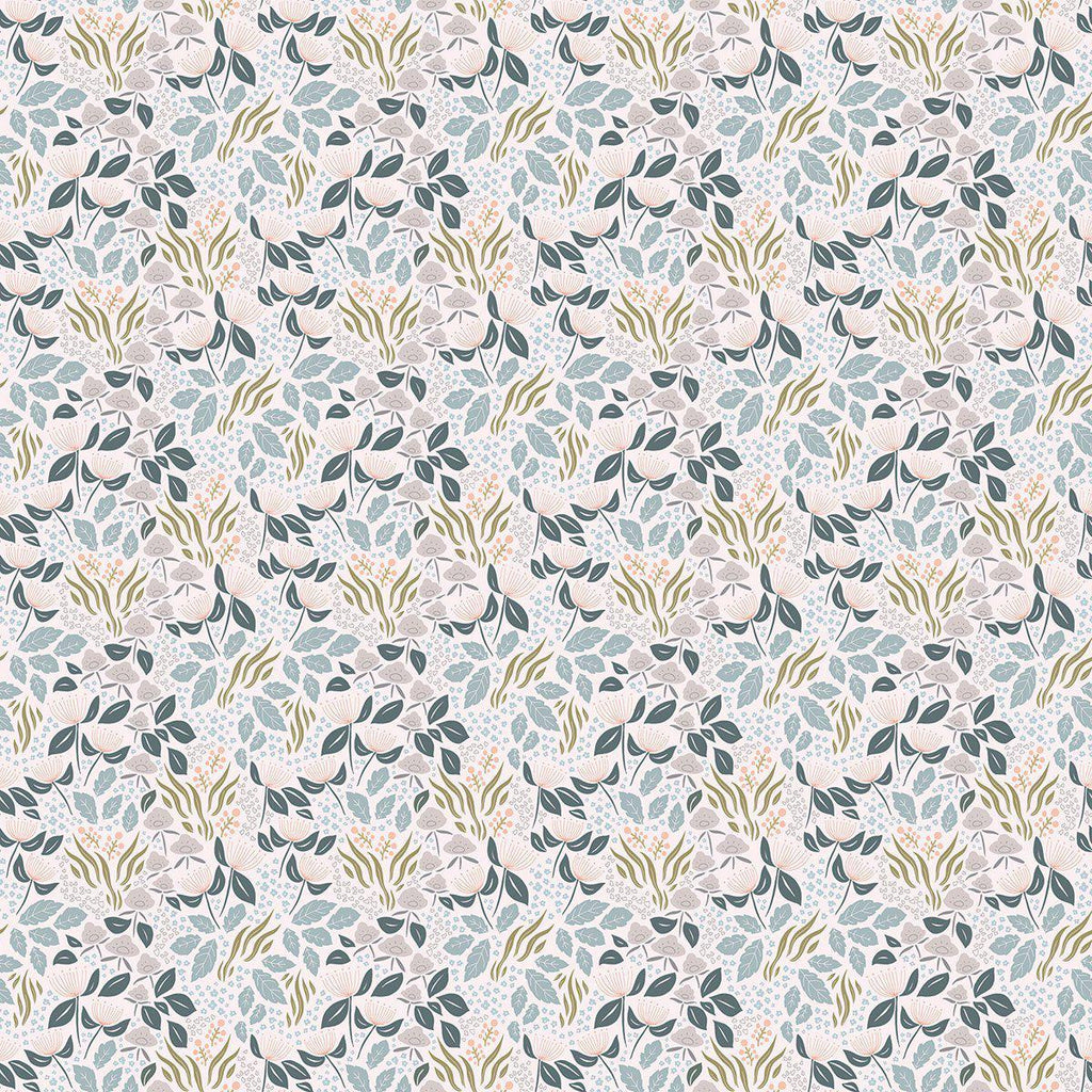 Adele Floral Wallpaper by Lilipinso, available at Bobby Rabb