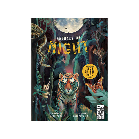 Animals At Night Book by Katy Flint, available at Bobby Rabbit.