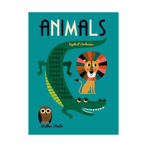 Animals Book by Ingela P. Arrhenius, available at Bobby Rabbit.