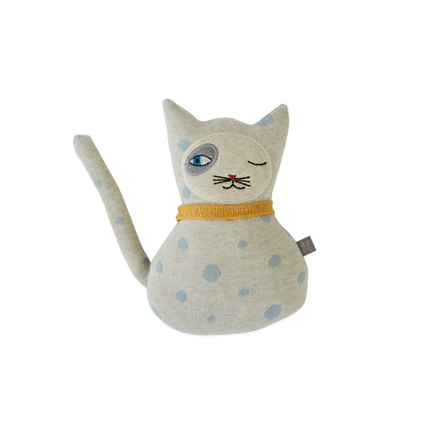 Baby Benny Cat Cushion by Oyoy, available at Bobby Rabbit.