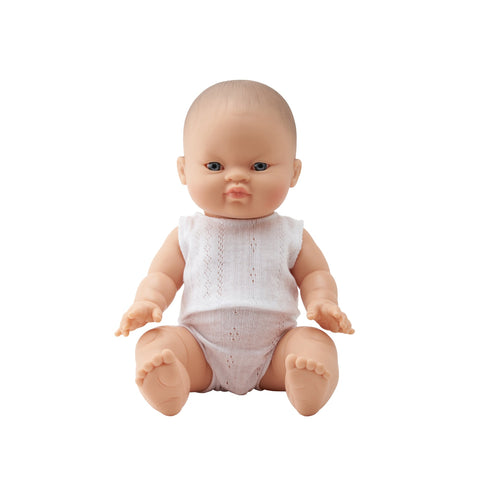 Baby Bobby 34cm Doll by Paula Reina, available at Bobby Rabbit.