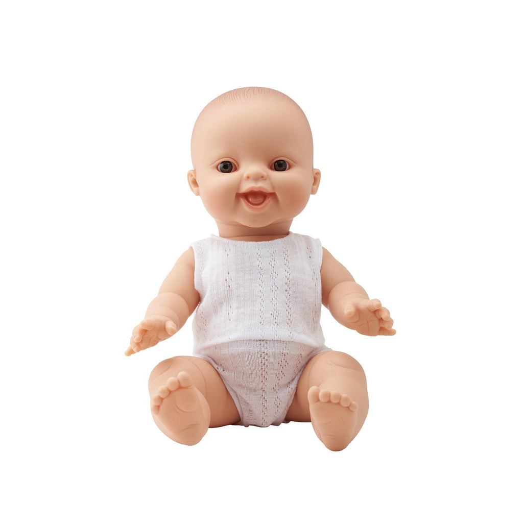 Baby Charlie 34cm Doll by Paula Reina, available at Bobby Rabbit.