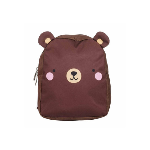 Bear Backpack by A Little Lovely Company, available at Bobby Rabbit.