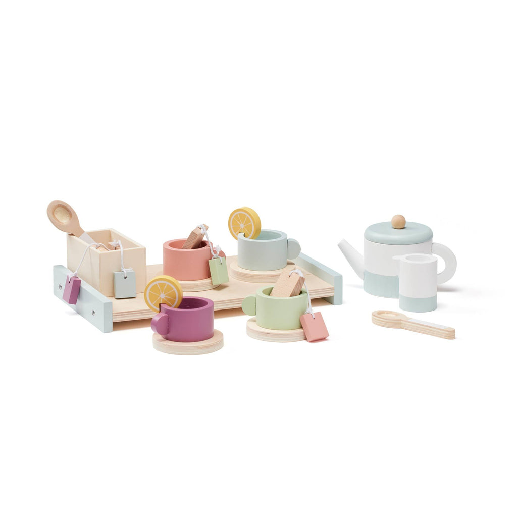 Bistro Tea Set by Kids Concept, available at Bobby Rabbit.