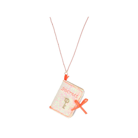 Book of Secrets Necklace by Meri Meri, available at Bobby Rabbit.