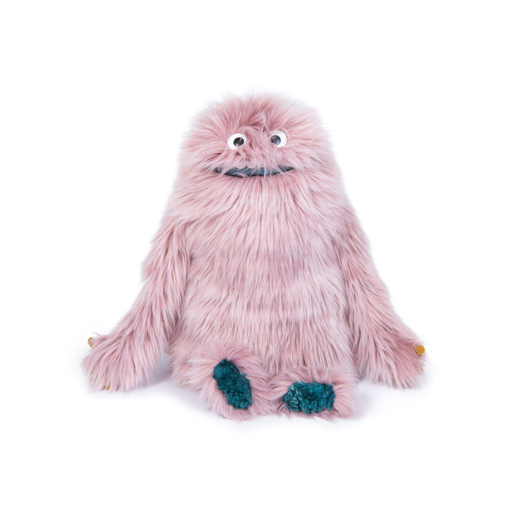 Boubou Monster Soft Toy from Les Schmouks collection by Moulin Roty, available at Bobby Rabbit.