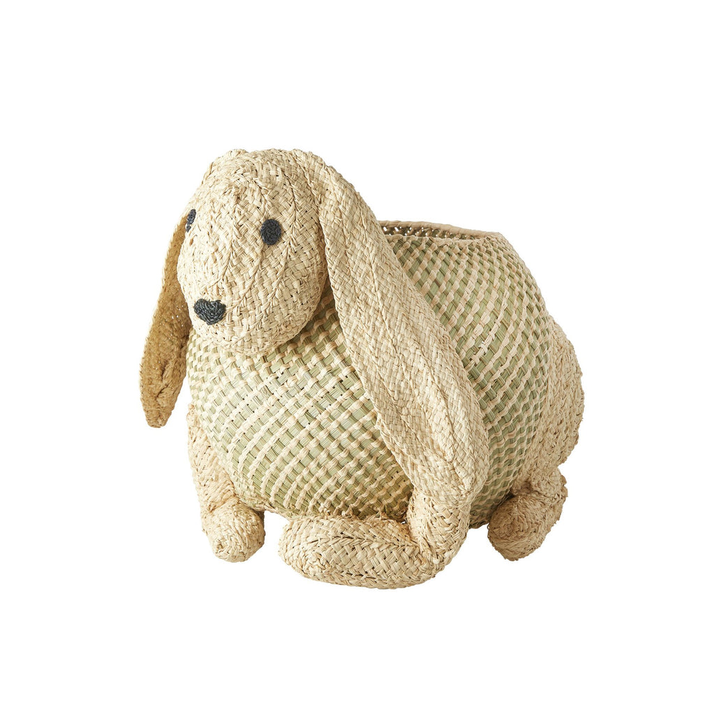 Bunny Storage Basket by Rice, available at Bobby Rabbit.