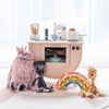 Wooden Kitchen, Toys and Accessories, styled by Bobby Rabbit.