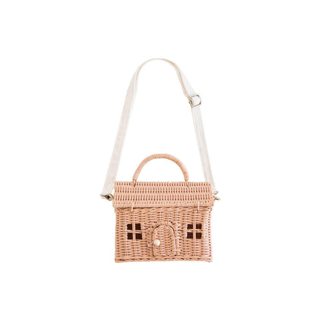 Casa Bag - Rose by Olli Ella, available at Bobby Rabbit.